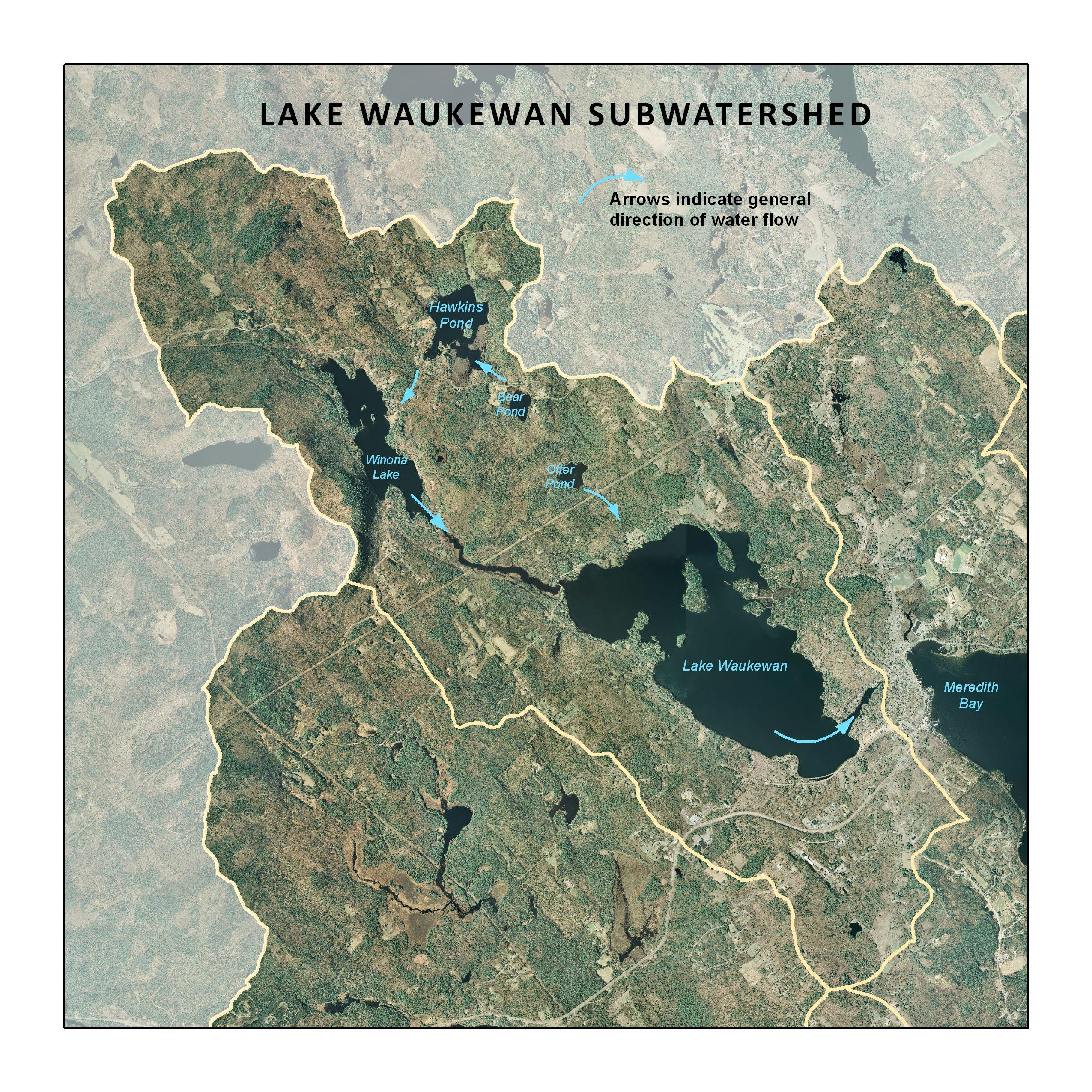 subwatershed descriptions lake winnipesaukee gateway plan  meredith paugus  saunders bay